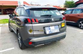 peugeot price list spied 2017 peugeot 3008 seen in malaysia could debut this year
