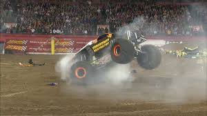 monster truck jam orlando unstoppable maximum destruction wows the monster jam orlando crowd