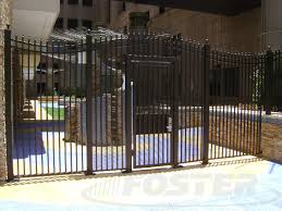 wrought iron fence foster fence ltd