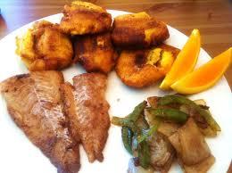 cuisiner le plantain plantain tapé tapé et du poisson fish recipe dans ma cuisine