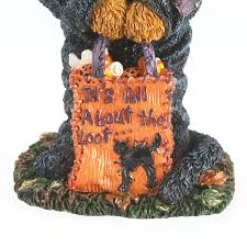 boyds bears 1e halloween bear in cat suit bearstone figurine
