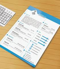 Fancy Resume Templates 115 Best Free Creative Resume Templates Download