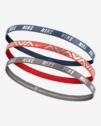 hair bands nike metallic hairbands 3 pack nike