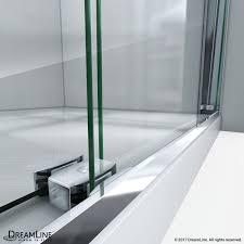Bypass Shower Door Essence H Frameless Bypass Shower Door Dreamline