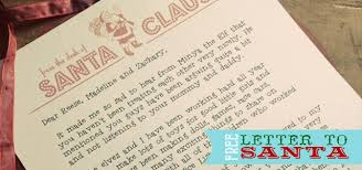 letters from santa claus free santa letterhead three monkeys studio