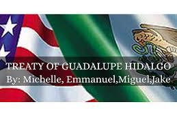 Guadalupe Flag Treaty Of Guadalupe Hidago By Victoria Rabanus