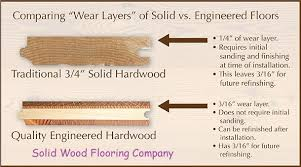 engineered wood flooring vs solid wood flooring solid