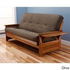 Innerspring Mattress For Sofa Bed by Somette Ali Phonics Multi Flex Honey Oak Full Size Wood Futon