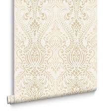 Best  Cream And Gold Wallpaper Ideas On Pinterest Hutch - Ideas for bedroom wallpaper