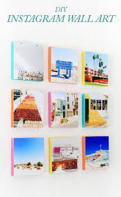 how to turn your instagram photos into wall art the crafted life