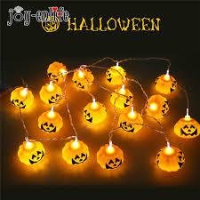 halloween decoration lights 30led ghost solar string light solar