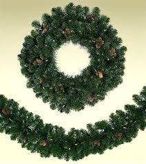 artificial wreaths decorated pre trees spruce wreath