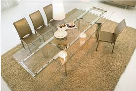Designer Glass Dining Tables 1 Contemporary Furniture Italian Dining Furniture
