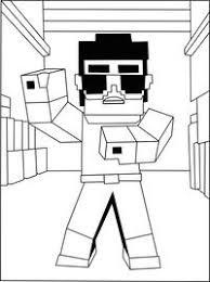 minecraft coloring sheets print printable minecraft character