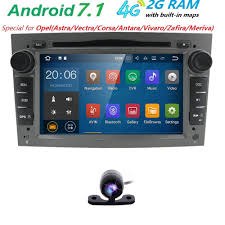 opel zafira 2005 android7 1 car audio dvd player for opel zafira 2005 2011 corsa
