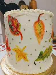 painted fall carrot cake w cream cheese frosting album on imgur