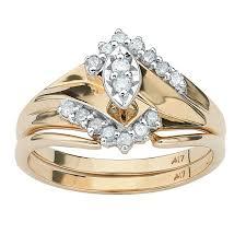 split shank engagement ring with wedding band u2013 custom jewelry