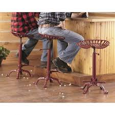 bar stools tractor seat stool with wheels tractor seat bar stool
