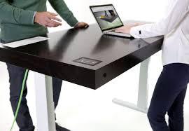 bureau connecté stir kinetic desk le premier bureau connecté et personnalisable