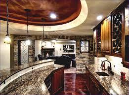 Simple Basement Finishing Ideas Kitchen Room Marvelous Small Home Bar Rustic Basement Finishing