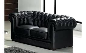 canape chesterfield noir canape canape chesterfield convertible 2 places canape