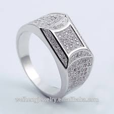 zircon rings images Zircon ring for men 925 sterling silver gold finger ring rings jpg