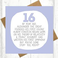 card invitation design ideas by your age funny 16th birthday card