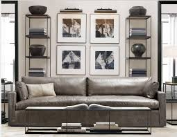 grey leather sofa u2026 singer residence living room and master