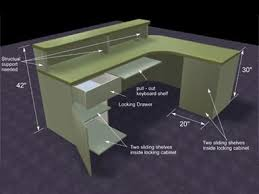 Reception Desk Plan This Is Reception Desk Woodworking Plans Tukang Kayu Kaya