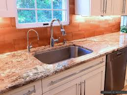 copper kitchen backsplash ideas typhoon bordeaux countertop copper kitchen backsplash tile