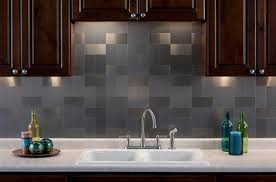 metallic kitchen backsplash metal tile backsplash gpsolutionsusa