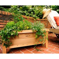 herb garden planter box decoration awesome classic urban planter box durable and
