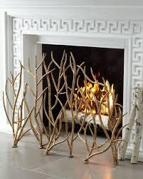 Decorative Fireplace by Decorative Fireplace Screen Horchow Com