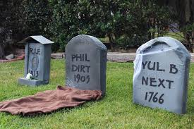 Clever Outdoor Halloween Decorations by Headstone Decorations Halloween Page 2 Bootsforcheaper Com