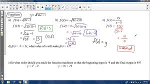 algebra 1 2 fall final exam review study guide solutions youtube