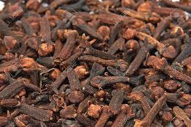 closeup image of the indonesian spice dried cloves stock photo