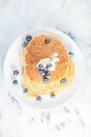 Brown Rice Flower - brown rice flour pancakes with coconut butter blueberries u2013 love