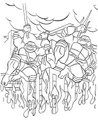 teenage mutant ninja turtles printable coloring pages coloring