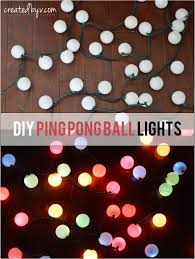 Light Up Balls On String by After We Built A Pergola Over Our Concrete Patio I Was Excited To
