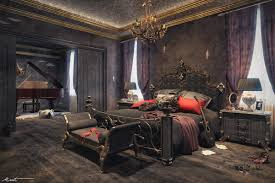 gothic room unleash your gothic personality in your bedroom with these 5 tips