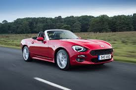 fiat spider white fiat 124 spider 2016 review auto express