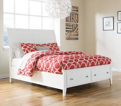Queen Bed Frame With Trundle by Ashley Langlor Queen Bed Frame With Storage Open Box Superco