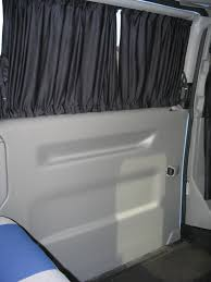 Van Window Curtains Vw Transporter T4 Syncro Camper Conversion Curtains Fitted