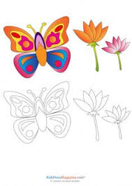match up coloring pages detailed butterfly therapy and