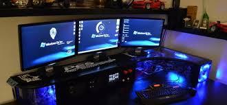 pc bureau multimedia bureau pour gamer diy gamerstuff fr
