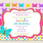 free printable butterfly birthday invitations gingham cherry free