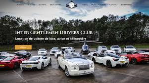 voiture de luxe tarifs inter gdc
