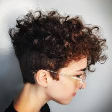 which hair style is suitable for curly hair medium height best 25 shaved curly hair ideas on pinterest curly hair mohawk
