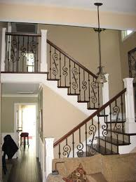 Wood Banisters And Railings Best 25 Wood Stair Railings Ideas On Pinterest Stair Case