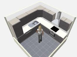 plan cuisine l plan de cuisines cuisine granit branco pyracema effet cuir 3